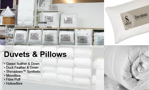 Duvet & Pillows